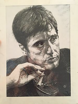 Hand Drawn Picture Of Al Pacino (Scarface)