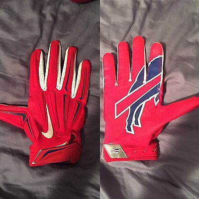 Charles Clay Nfl Game Used Game Worn Glove Buffalo Bills Color Rush