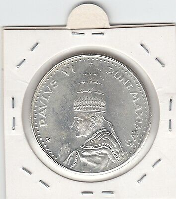 Rare 1975 Vatican - Pope Paul VI Jubilee Year Commemorative Medallion