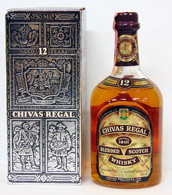 Whisky Chivas Regal Blended Scotch Whisky 12 Years Old 43% Vol. 75 Cl.