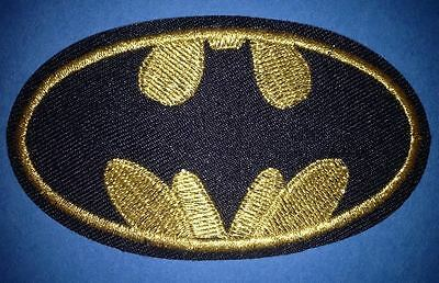 Batman Collectable Iron On Jacket Hoodie Hat Backpack Patch Crest B