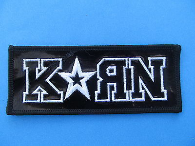 Korn Hard Rock Music Iron On Hat Jacket Backpack Hoodie Metal Patch Crest B
