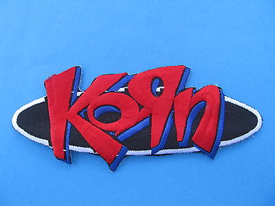 Korn Hard Rock Music Iron On Hat Jacket Backpack Hoodie Metal Patch Crest E