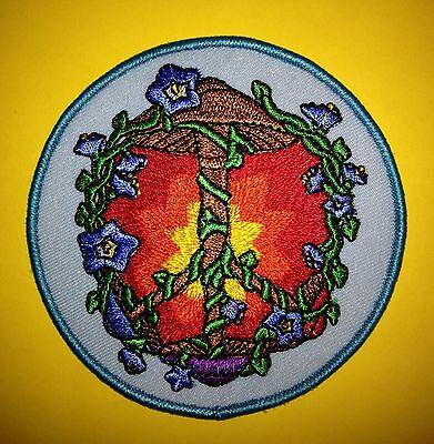 Grateful Dead Psychedelic Mushroom Jacket Vest Hat Backpack Hoodie Patch Crest R