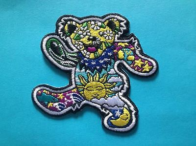 Rare Grateful Dead Folk Rock Music Hat Jacket Backpack Hoodie Patch Crest S