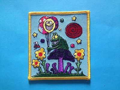 Rare Grateful Dead Folk Rock Music Hat Jacket Backpack Hoodie Patch Crest Q