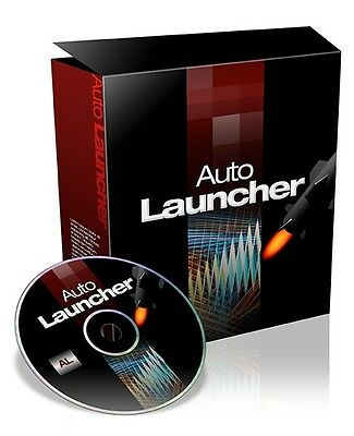 AUTO LAUNCHER Internet Marketing Script - Countdown für Webseiten Websites PLR