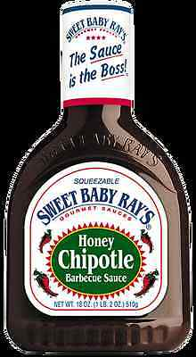 Sweet Baby Ray's Honey Chipotle Barbecue Sauce - 18oz/510g