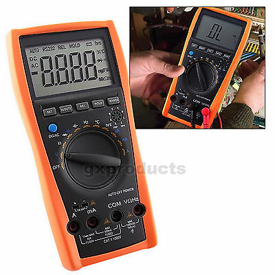 AC DC OHM Frequency Triode Professional Auto Range Digital Multimeter