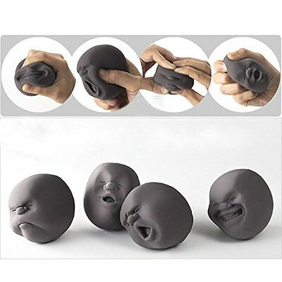 EQLEF Funny Novelty Gift Japanese Gadgets Vent Human Face Ball Anti Stress 1 Pcs