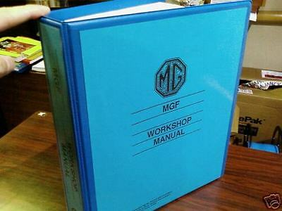 MGF (Factory) Workshop Manual TF 130 VVC 1.8 Repair Service Instruction