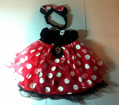 Disney Baby Youth Outfit Miney Mouse Dress Rare