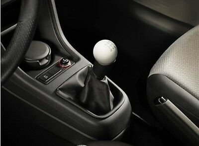 NEW GENUINE SEAT Mii CANDY WHITE SPHERICAL ACCESSORY 5 SPEED GEARKNOB