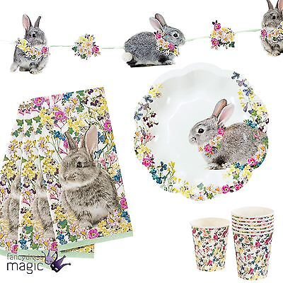 Talking Tables Truly Bunny Easter Floral Spring Vintage Party Tea Lot Partyware