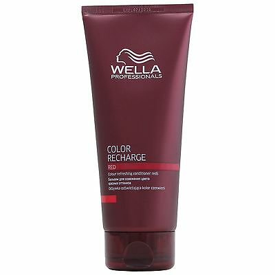 NEW Wella Professional Care Recharge Cool Red Colour Conditioner 200ml for women