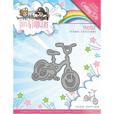 ycd10093 Babyschuh Corner-Tots and Toddlers-stanzschablone Yvonne CREATIONS