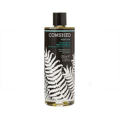 Cowshed Wild Cow Invigorating Bath & Body Oil 100ml, NEW Women's Body Products