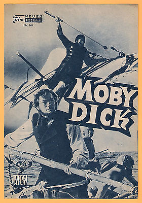 NFP-Neues Filmprogramm Nr. 143 - Moby Dick, Gregory Peck, 1956