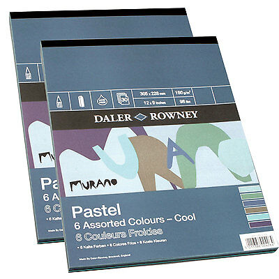 Daler Rowney Murano Pad 12 x 9 inches (304 x 228mm) Cool 30 sheets