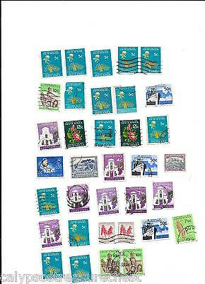 WORLD STAMPS SOUTH AFRICA STAMPS 1960s - LOT OF 34 STAMPS - COMBINED POST