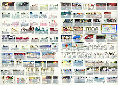 South Africa 1981 - 1984 ***** 110 Stamps