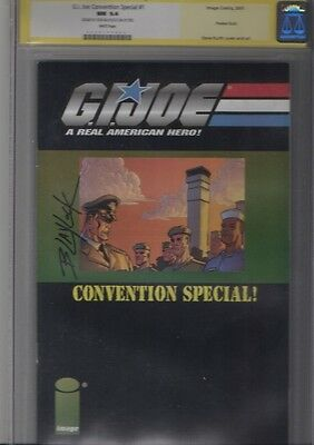 G.I. Joe Convention Special #1 (2001, Image) CGC signature series graded 9.4