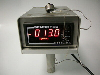 Sensotec 060-3147-03 Gm Digital Indicator / Signal Conditioner & Load Cell