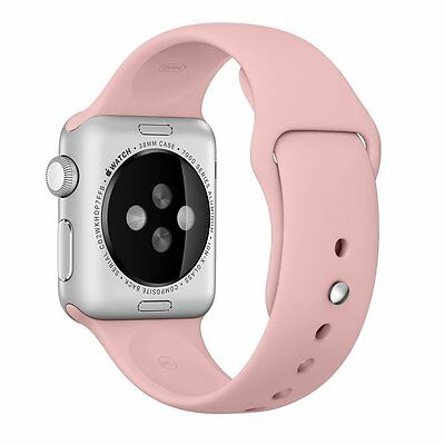 GENUINE APPLE WATCH STRAP  42mm  MLDR2ZM/A  SPORT BAND - Vintage Rose
