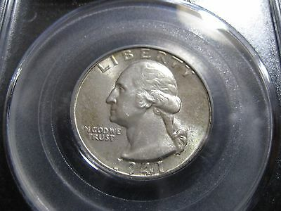 1941-S Washington Quarter - PCGS MS-63