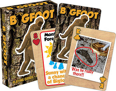 Bigfoot Playing Cards Deck Misc