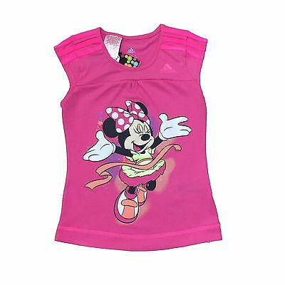 Adidas Girls T-Shirt Featuring Minnie Mouse