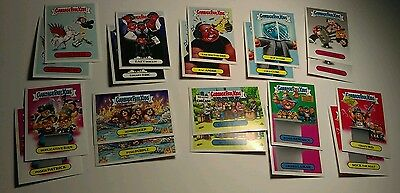 '16 Garbage Pail Kids Rock n Roll Hall of Fame/Lame 20-card set Dr Dre Ice Cube