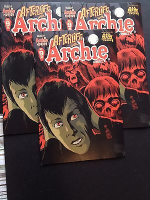 Afterlife With Archie #9 2nd Print Variant See description for details...