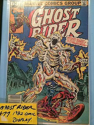 Ghost Rider #77 Display Only Comic