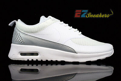 sale retailer 1a932 07927 Nike Womens Air Max Thea Textile Txt White 819639-100 New Size  8