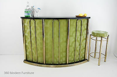 Mid Century Sideboard Cocktail Bar Vintage Retro Home Bar & Stool Shop Counter