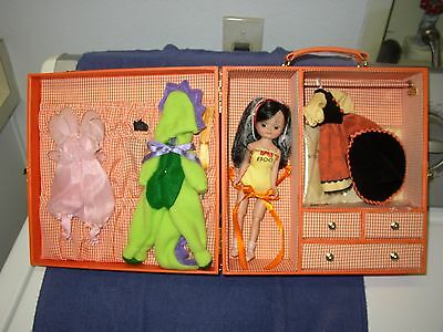 "TINY BETSY MCCALL Tonner Doll ""HALLOWEEN TRUNK SET"" RARE All Accessories"