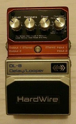 Digitech DL-8 Stereo Delay Looper Pedal