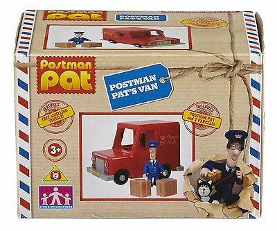 Postman Pat Royal Mail Van *figure and parcels * Brand New * Fast Delivery