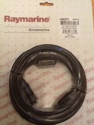 Raymarine A80273 4M CPT-100/110/120 TRANSDUCER EXT CABLE