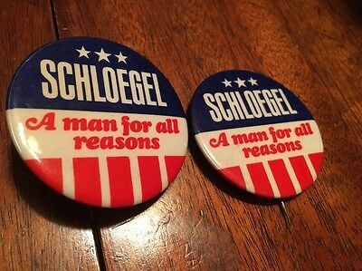 US Jaycees Pinback Button 1967 Schloegel A Man For All Reasons, Jaycees