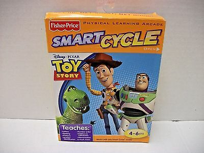NEW Fisher-Price Smart Cycle Software  Toy Story  4-6yrs