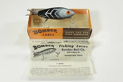 Bomber Bait Co. No. 514 Fishing Lure Vintage Excellent with box and brochure