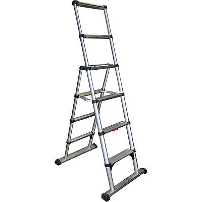 Telesteps 10ES 10' Climbing Height Combination Ladder 375Lb. Max. Load