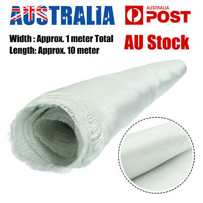 10M x 1M 180g Fibreglass Fibre Glass Cloth Fabric Plain Weave  f.Model Airplane