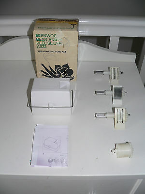 KENWOOD CHEF - Bean & Peel Slicer-  A932- (Fits 901 and KM). Excellent condition
