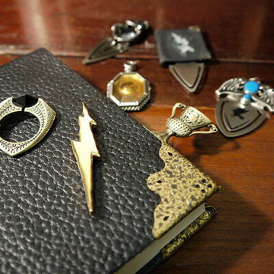 Harry Potter Horcrux Bookmark Set of 7 Licensed by The Noble Collection NEW