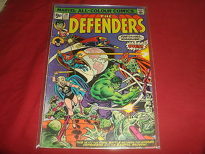 THE DEFENDERS #29   Bronze Age  Marvel Comics 1975 VG+