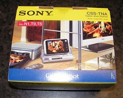 SONY CSS-TNA CYBERSHOT DOCKING STATION - Boxed & Complete - Never Used