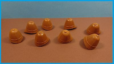 8 x Tropenhelm Special Edition Color Middle Brown/Zulu/East India Company
